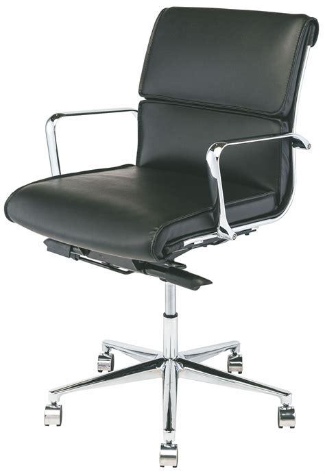 lucia black naugahyde office chair hgjl286 nuevo