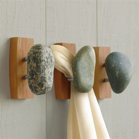 Tumbled Stone Hook Collection   VivaTerra