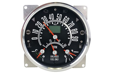 Speedhut Gps Speedometer For Jeep Cjs 307796 Photo 1