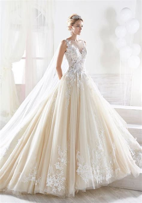 Nicole Collection 2018 NIAB18093 Wedding Dress   The Knot