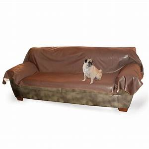 kh mfg dog cat pet hair dirt leather lover39s couch sofa With furniture covers for dog hair