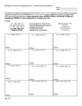 Pictures Standard Form Worksheet Roostanama