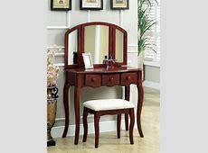 Makeup Vanity Table with Mirror DesignWallscom