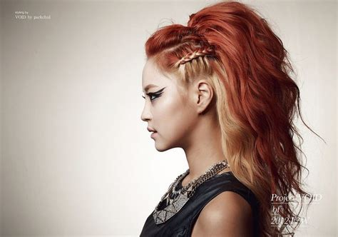 Two-tone Braid Hair Rocker Style, Love It!!!! I Have Been