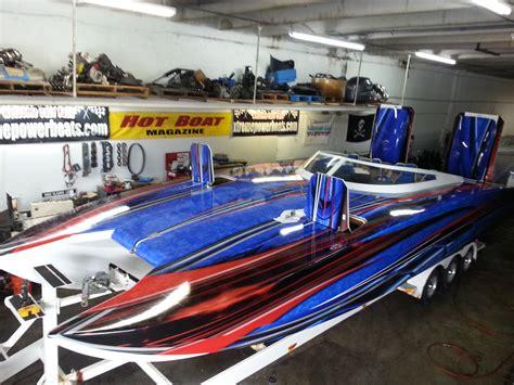 Boat Graphics Paint by Custom Graphics Vinyl Wraps Boat Wraps Florida