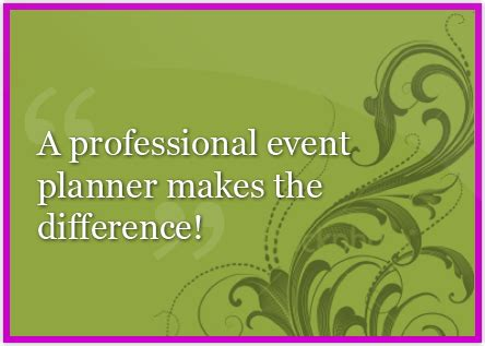event planning quotes  sayings quotesgram