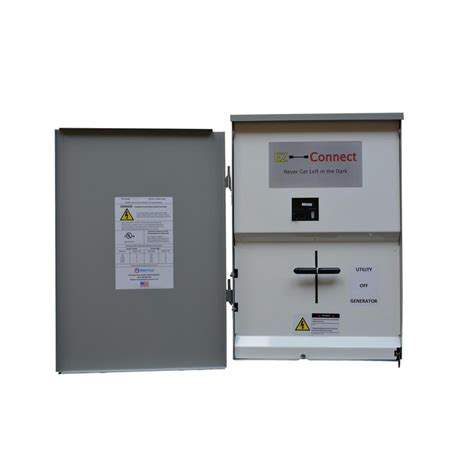 ez connect manual transfer switch service entrance with 150 disconnect ezc m 150