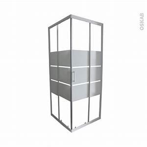 Porte De Douche 70 Cm : porte de douche coulissante elie angle 70x70 cm verre ~ Dailycaller-alerts.com Idées de Décoration