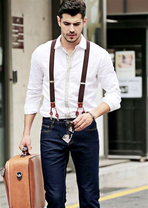 How to Choose Suspenders and When to Wear Them - Outfit Ideas HQ