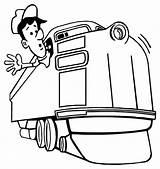 Colorare Treno Macchinista Disegno Disegni Treni Bambini Stampare Eisenbahn Ausmalbilder Disegnidacolorareonline Zug Train Gratis Coloring Maquinista Immagini Colori Texas Conducteur sketch template