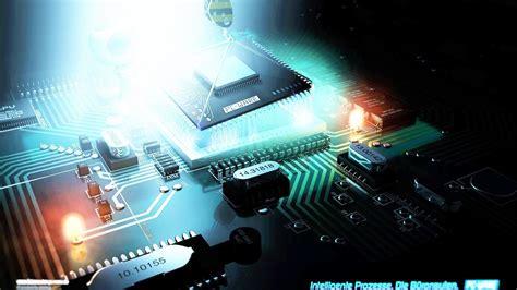 green motherboard technology computer hd wallpaper