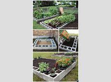 Diy Cinder Block Raised Garden Bed Ideas Best Blocks On