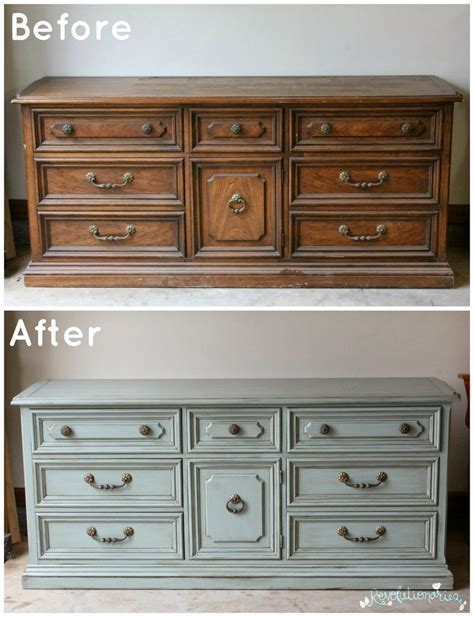 glazed kitchen cabinets before and after general finishes blue dresser 1245