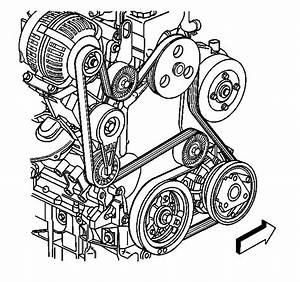 Need A Diagram For The Serpentine Belt On A 1999 Pontiac