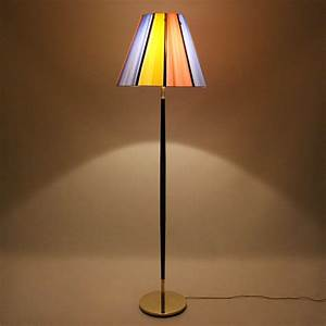 Large floor lamp danish vintage design for Giant retro floor lamp