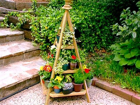 1000+ Images About Patio Plant Shelves And Pots On