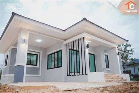 gray bungalow   bedrooms pinoy eplans   modern bungalow house  house