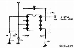gain controlled microphone preamplifier vogad audio With photocell circuits audiocircuit circuit diagram seekiccom