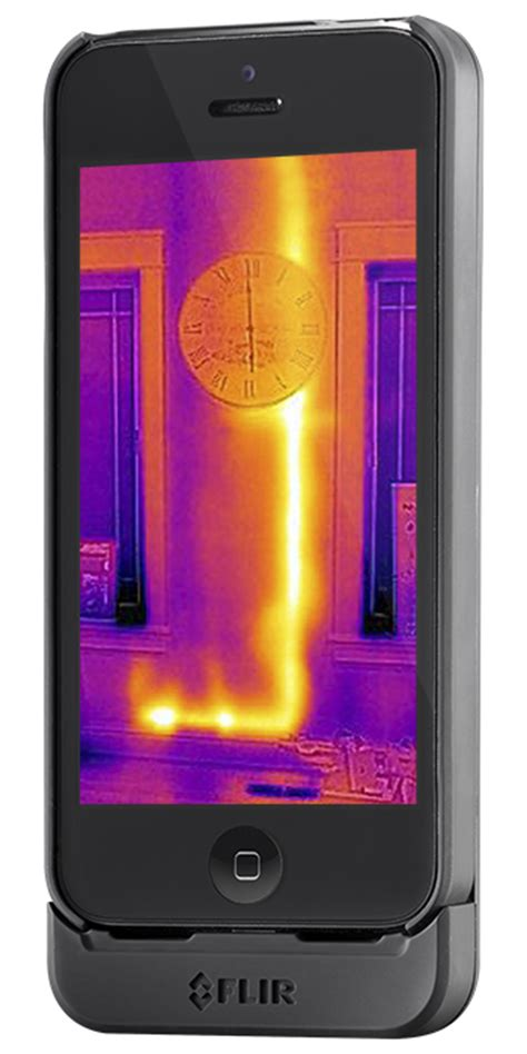 flir iphone flir one personal thermal imager flir systems