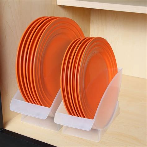 amazonsmile home    dinner plate holder holds plates  upright position kitchen