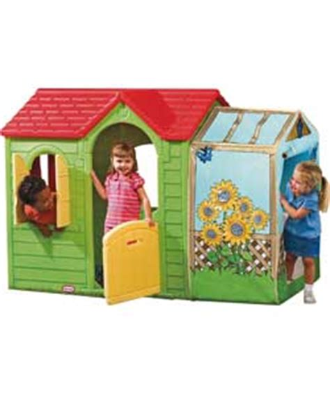 tikes garden cottage playhouse review