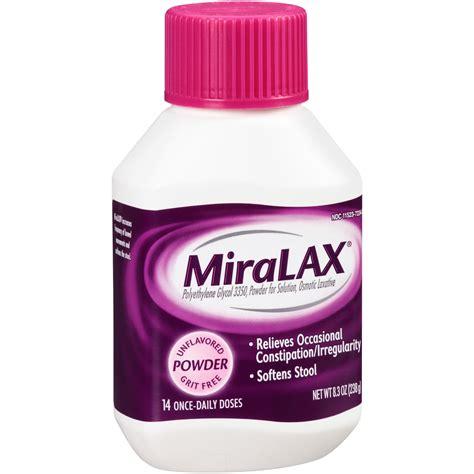 Miralax Single Dose Sachets 05 Oz 10 Ct