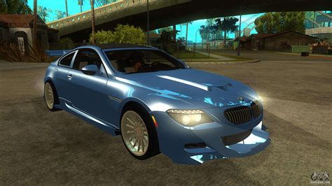 Bmw M6 Full Tuning For Gta San Andreas