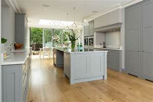 grey white shaker kitchen 2318