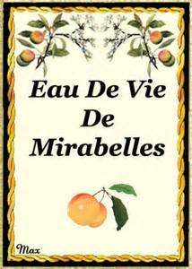 Mirabelles à L Eau De Vie by Etiquettes Punch Ect 3