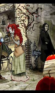 Lily and Snape - Severus Snape Fan Art (23875457) - Fanpop