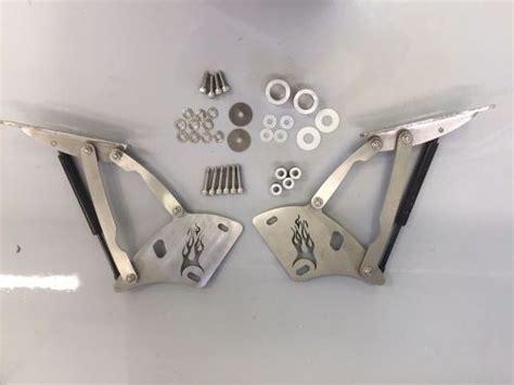 find mustang julian hood hinge set custom stainless steel