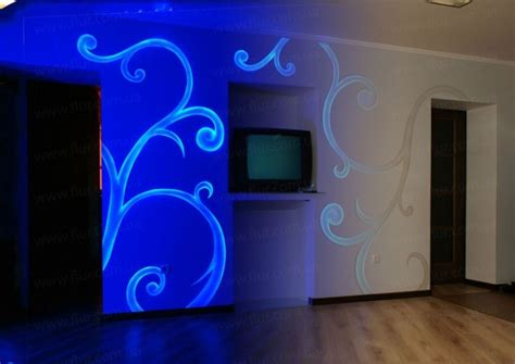 invisible uv light paint for walls http acmelight eu