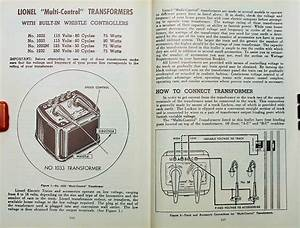 Lionel 1033 Transformer Wiring Diagram