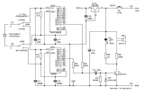 Crystal Tester Circuit
