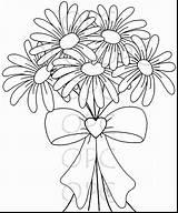 Daisy Coloring Flower Gerbera Gerber Daisies Drawing Printable Getdrawings Getcolorings Marvelous Excellent Sweet Stamp Digital Odd sketch template