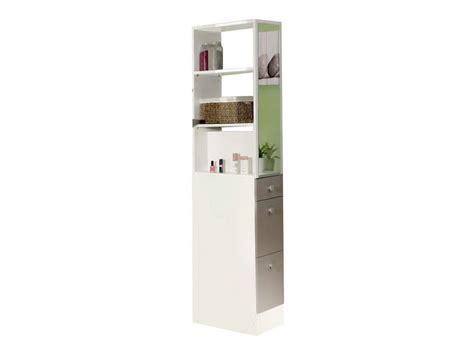 colonne cuisine conforama colonne de séparation esther coloris blanc taupe vente