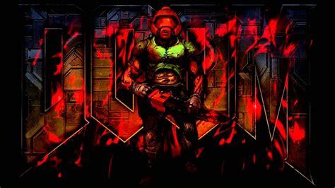brutal doom hd wallpaper background image