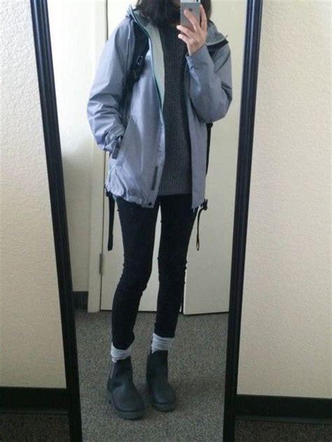 Jacket windbreaker blue jacket aesthetic aesthetic tumblr aesthetic grunge pale grunge ...
