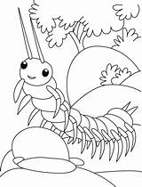 Centipede Coloring Pages Ramp Walk Trying Insect Colouring Printable Drawing Bug Bestcoloringpages Insects Books Ladybug Butterfly Sheets Flower Getdrawings sketch template
