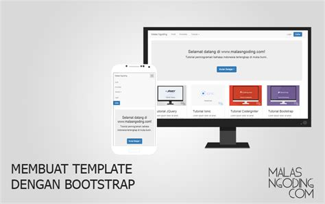 membuat web responsive  bootstrap