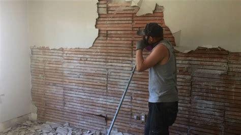 diy   remove plaster  wood lath walls youtube