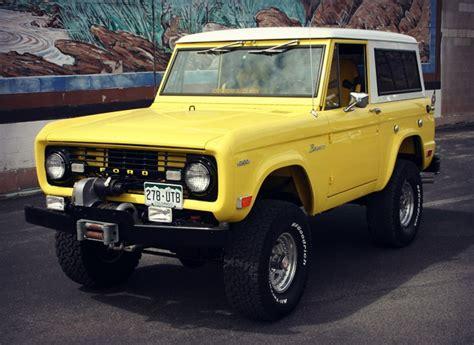 old bronco jeep 8 coolest vintage suvs cool material