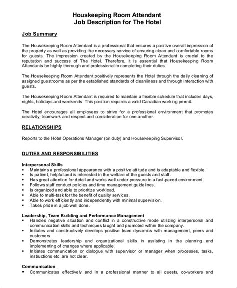 Sle Resume For Housekeeping In Hotel by Sle Cover Letter For Hospital Cleaning 28 Images Sle