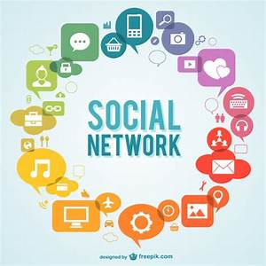 Social network icons Vector | Free Download