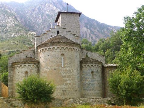 lombard romanesque architecture pyrenees huesca spain