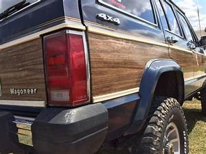 1987 Jeep Cherokee Wagoneer Limited 4x4 4 0l