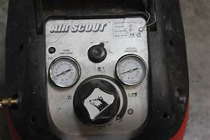 Husky 1 5 Gallon Air Scout Portable Air Compressor  Model