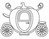 Carriage Cinderella Pumpkin Coloring Pages Slipper Glass Princess Drawing Cartoon Coach Vector Background Mouse Getcolorings Printable Disney Isolated Shaped Shoes sketch template