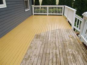Lasting Deck Stain Or Paint by How To Stain A Deck 28 Images Deck Finish Fix Up How