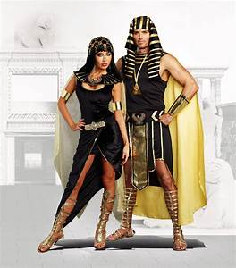 Sexy Cleopatra Pharaoh Queen Dress Outfit Egyptian Roman ...